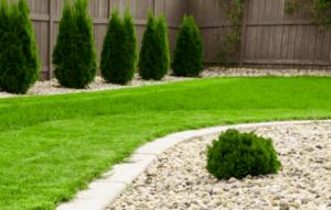 lawn mowing riverstone gardening service